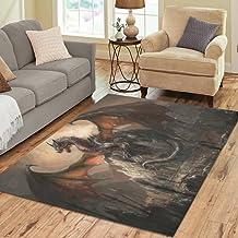 Flying Dragons Rug Rectangle Area Rugs Living Room Carpet Bedroom Floor Door Mat