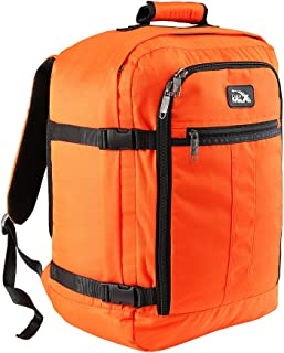 Cabin Max®️ Mini Metz 30l Underseat Carry On Luggage - 18x14x8 Weekender Bag - Ideal Backpack for Weekend Away/Short Breaks - Fits Qantas Airlines and Many More! 1.5lb (Orange)