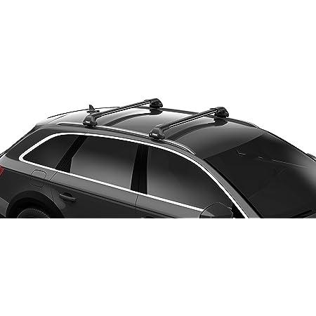 Vdp Skiträger Silver Ice Ausziehbar Dachträger Relingträger Lion1 Kompatibel Mit Seat Ateca 5 Türer Ab 16 Auto
