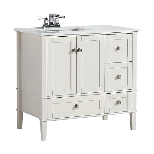36 inch Bathroom Vanity with Drawers: Amazon.com