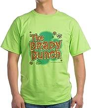 CafePress The Brady Bunch Logo 100% Cotton T-Shirt Green