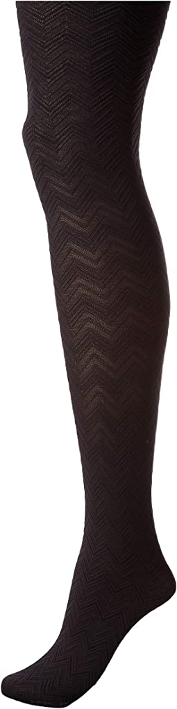 Chevron Texture Shaping Tights