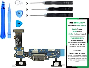 DIYMOBILITY Charge Port Flex Cable Connector Replacement Kit with DM Tools and Instructions Compatible for Samsung Galaxy S5 G900V (VERIZON)