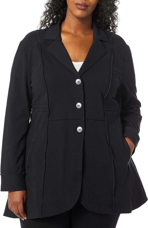 NIC+ZOE Women's Plus Size Seamed Riding Jacket