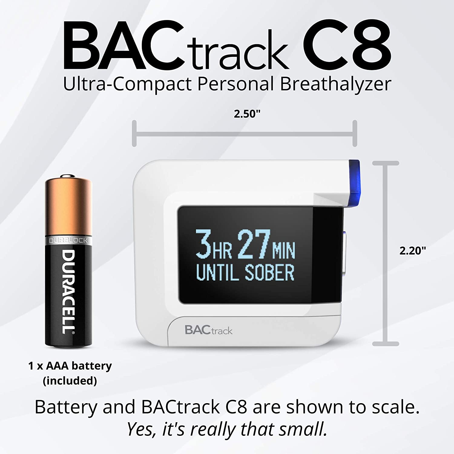 BACtrack C8 Personal Breathalyzer (2 Pack) | Professional-Grade