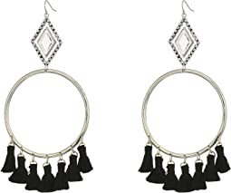Vanessa Mooney - The Ania Tassel Hoop Earrings