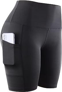Women's Yoga Shorts Biker Athletic Workout Running Shorts...
