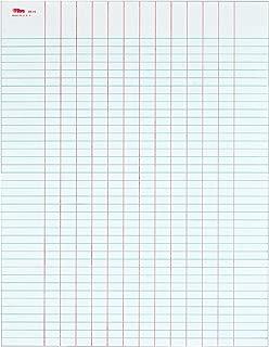 TOPS Data Pad, 13-Column Heavyweight 50-Sheet Pads, Box of 10 Pads (3616)