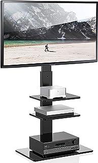 Uniwersalny stojak na telewizor na płozach, odpowiedni dla większości 97-70 cali TV centrum rozrywki TV meble narożne wyso...
