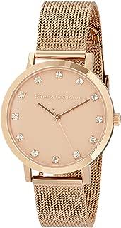 Christian Paul Women LPR3519 Year-Round Analog Quartz Rose Gold Watch