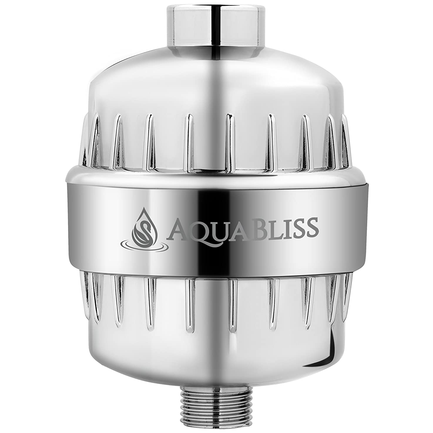 AquaBliss High Output 12-Stage Shower Filter - Reduces Dry Itchy Skin, Dandruff, Eczema, and Dramatically Improves The Condition of Your Skin, Hair and Nails - Chrome (SF100) xjvljvzrsevcp8