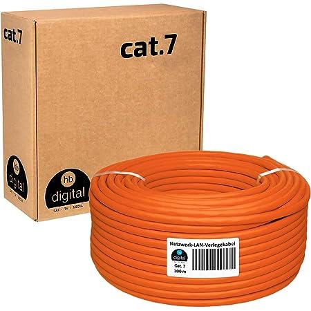 Bigtec Cat 7 Netzwerkkabel Verlegekabel Lan Kabel 80m Elektronik
