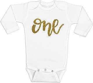 Baby Girl 1st Birthday Shirt One Shirt One Bodysuit