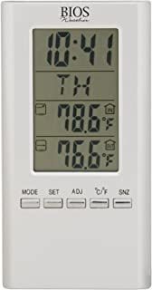 Thermor Bios Indoor/Outdoor Wired Digital Thermometer (White, 4.25-Inch x 6.5-Inch x 0.5-Inch)