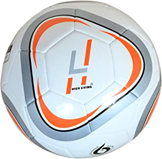 HIGH LIVING® Balón de fútbol tamaño 5 Profesional para Entrenamiento de Equipo en Interiores y Exteriores