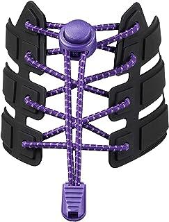 StoutGears Reflective No Tie Shoelaces Lock System - Elastic Shoelaces for Sneakers (1 Pair)