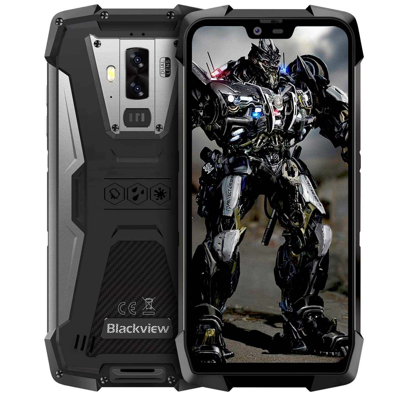 Rugged Cell Phones Unlocked, Blackview BV9700 Pro, Dual sim Rugged Smartphone Unlocked, Bundle Andorid 9.0 Pie 6GB+128GB R...