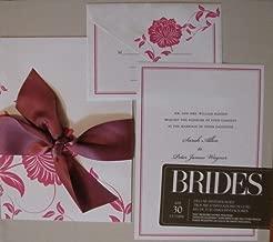 brides magazine invitations
