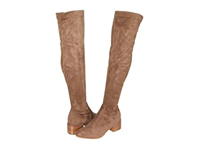 Steve Madden Sadie Over-the-Knee Boot (Taupe) Women