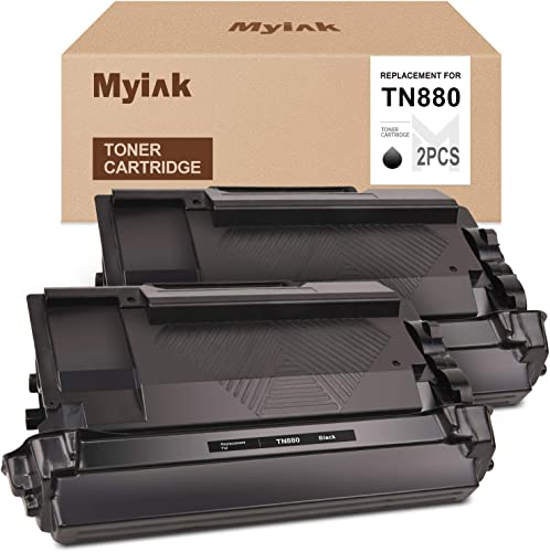 new arrival MYIK new arrival Compatible Toner Cartridge Replacement for Brother TN880 TN-880 High Yield to use with lowest HL-L6200DW HL-L6200DWT HL-L6250DW MFC-L6700DW MFC-L6800DW MFC-L6900DW (Black, 2-Pack) outlet online sale