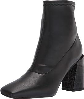 حذاء برقبة حتى منتصف الساق من Franco Sarto للنساء، أسود، 7. 5