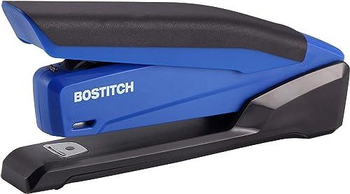 new arrival Bostitch outlet online sale Office InPower Spring-Powered Desktop Stapler, Blue discount (1122) online