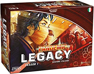 Pandemic: Legacy Season 1 (Blue Edition) (Season 1: Red)