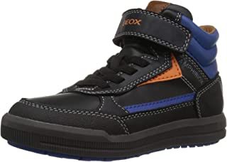 Geox Kids' Arzach Boy ABX 2 Waterproof & Insulated High Top Sneaker
