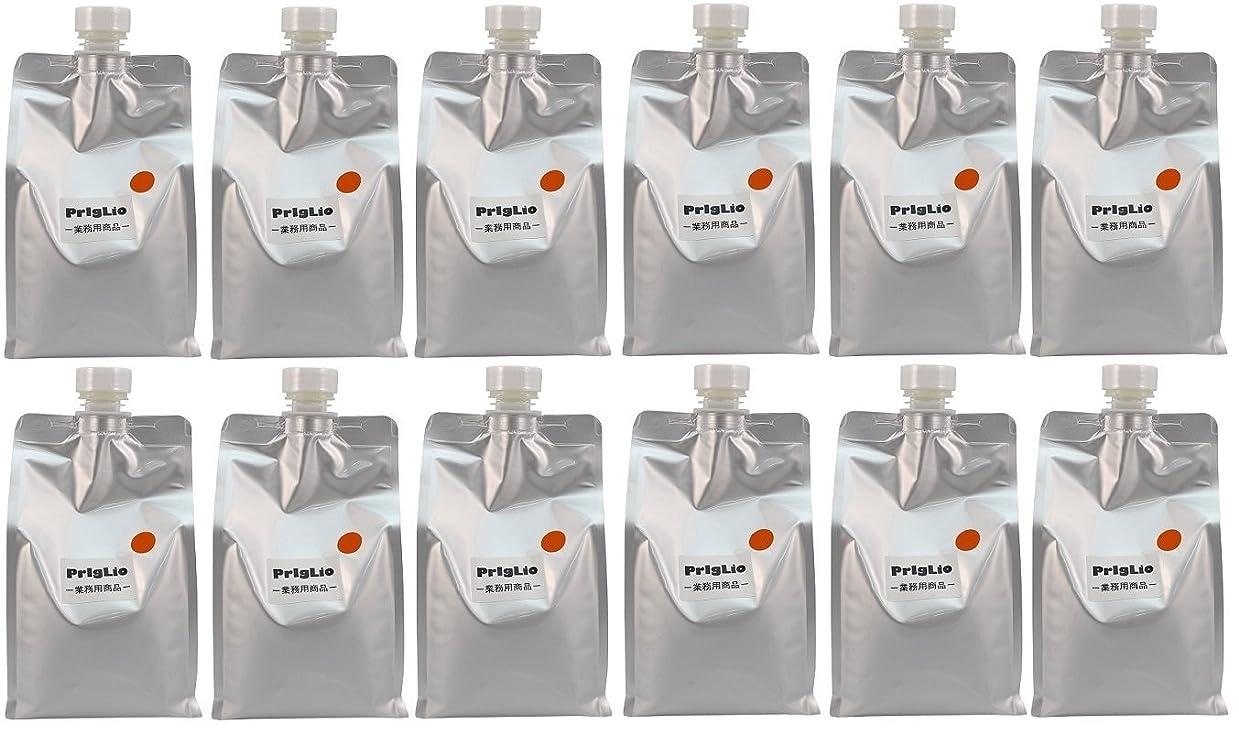 不名誉な電気陽性収穫【12個セット】BJC プリグリオ D ヘアー サプリメント オレンジ 900ml