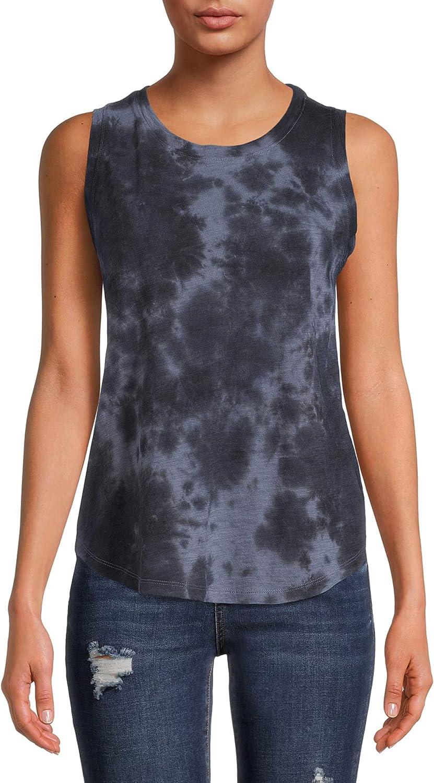 Women's Scoop Neck Tie Dye Tank Top