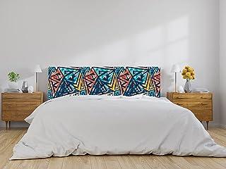 Oedim Cabecero Cama Moderno Abstracto, cabecero Decorativo para Camas, decoración para Habitaciones