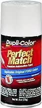Dupli-Color BFM0335 White E7 Performance Ford Exact-Match Automotive Paint - Aerosol, 8. Fluid_Ounces