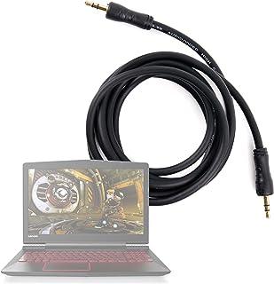 DURAGADGET Cable De Audio Portátil Lenovo Y520-15IKBN, Lenovo IdeaPad 110-15 / HP OMEN 15-ce012ns / ASUS UX490UA-BE064T - con Conexión de 3.5mm Y Bañado En Oro