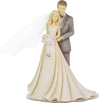 Foundations Cake Topper with Westbraid Doily (Wedding Cake Topper, 6004961)
