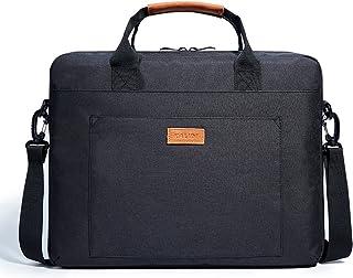 KALIDI, Laptoptasche mit Tragegriffen und Umhängegurt, 39,6 cm (15,6 Zoll), wasserdicht, stoßfest, für Laptops von ca. 38 39,6 cm (15 15,6 Zoll)   schwarz