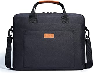 KALIDI Laptop Bag, 15.6 Inch Notebook Briefcase Messenger Bag for Dell Alienware/MacBook/Lenovo/HP, Travelling, Business, College and Office.