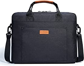 Kalidi Maletín para portátil, Laptop Funda para 17.3 Pulgadas Ordenador Portátil, Negro