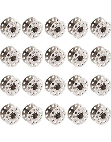 nolloi Bobine da Cucire 36 PCS Filo da Cucire Colorati con Scatola per Macchina da Cucire per Macchina da Cucire Singer Babylock Janome Kenmore ECC