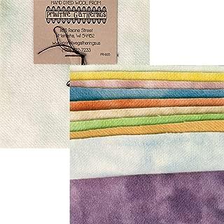 Primitive Gatherings - Pastel Hand Dyed Wool PRI-6015 - Charm Pack