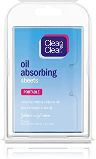 Clean & Clear Oil Absorbing Sheets, 50 Count (Pack of 1)