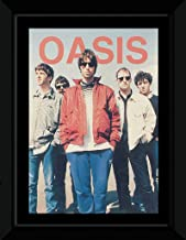 Oasis - Band Photo Framed and Mounted Print - 14.7x10.2cm