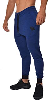 Slim Fit Joggers for Men   French Terry Cotton Skinny Tapered Sweatpants   Gym Sports Activewear Workout Clothes 202