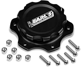 Earl's Performance 166016ERL Fuel Cell Cap And Bung (w/6 Bolt Flange Alm)