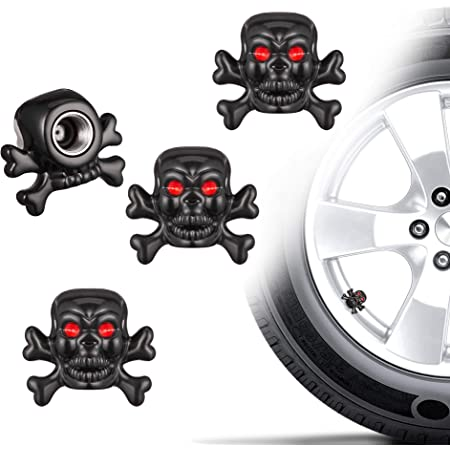Topxome 4pcs//Set Car Accessories Aluminum Billiards Car Wheel Tires Valve Caps Auto Motorcycle Airtight Stem Air Caps for Renault Ford Benz BMW Brown