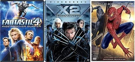 Marvel Sequels Bundle - X2: X-Men United (Widescreen), Spider-Man 3 (Widescreen) & Fantastic 4: Rise of the Silver Surfer 3-Movie Bundle