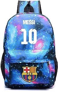 dd6ee71b2 Boys Messi Luminous Backpack Outdoor School Travel Soccer