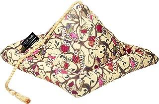 Hog Wild Peeramid Bookrest Soft Pillow Book Holder for Hands-Free Reading, Owl