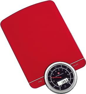 ZASSENHAUS digitale Bilancia da cucina Bilancia Balance Rosso