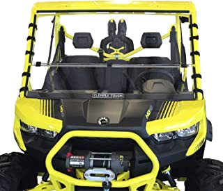 windshield can am defender