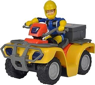 Simba 109257657 - Brandweerman Sam Mercury-Quad, Met Sam Figuur En Accessoires, Voor Kinderen Vanaf 3 Jaar